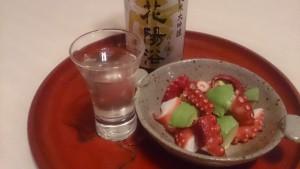 海のない埼玉県の日本酒「花陽浴」が、海の幸との思いがけない出会い