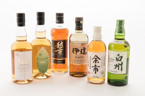 当方がチョイスした「日本代表」ウイスキーの6本