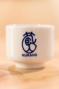 KURANDロゴの酒器