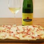 フランス・アルザス地方の白ワインにはタルトフランベ!簡単で安価な作り方を伝授!
