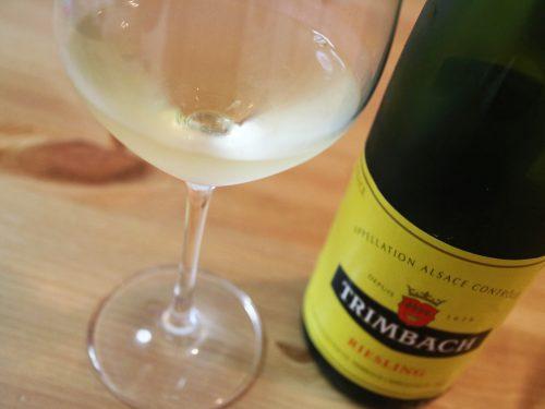 リースリングは香り味わい共にバランスよくつくられたワインだということがよくわかる。