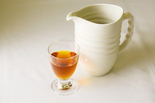 味わいがスムーズで飲みやすく、ボトルもスリムでラベルのデザインもかわいいワイン感覚の紹興酒