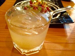 「レモン酒」のロック