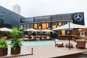 YEBISU MEISTER inspires Mercedes-Benz Connection NEXTDOOR The TERRACE