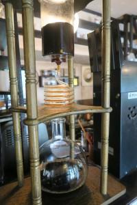「花カフェきゃろっと」の自家焙煎コーヒー