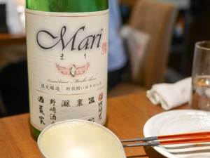日本酒「MARI」