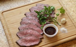 低温調理肉盛り
