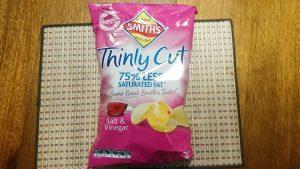 Smith'sのポテトチップス