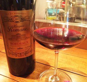 フランスの赤ワイン「マルキー・ロマーネ」