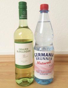 『ワインショーレ』は、ワイン6:炭酸水4の割合がベター