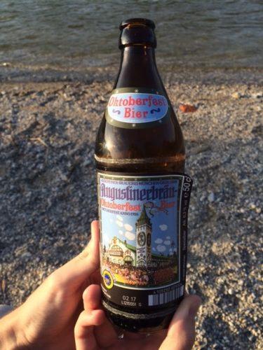 「アウグスティナー」のオクトーバーフェストの記念ビール