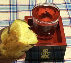 #2【秋の味覚の代表格 「焼き芋」と合うお酒は何か?】ハイボール・ワイン・日本酒を招集してツマミとしての適性を検証