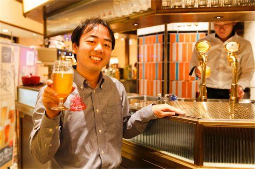 人気のクラフトビール「Craft Label」シリーズを手掛けるジャパンプレミアムブリュー株式会社のただ一人の「マスターブリュワー」新井健司(あらい・たけし)さん