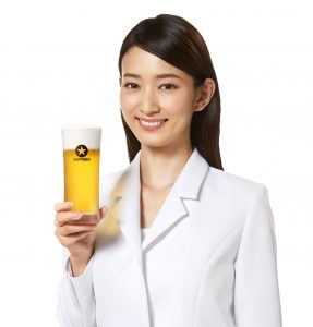 """2017年サッポロビールイメージガールに""""川辺優紀子""""を起用 バッカスの選択"""