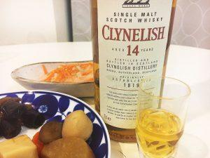 「クライヌリッシュ14年」とおせち料理