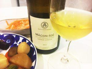 「マコン イジェ シャトー ロンドン 2013」とおせち料理