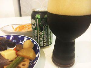 「ブリュードッグ ブラックハマー」とおせち料理