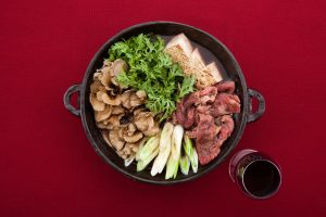 赤ワイン鍋