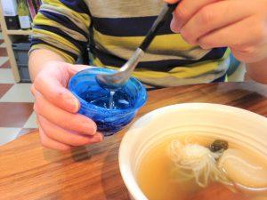 日本酒におでん出汁を入れる