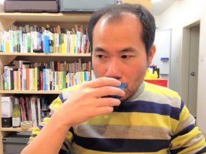 おでん出汁入り日本酒を飲んでみた編集長D