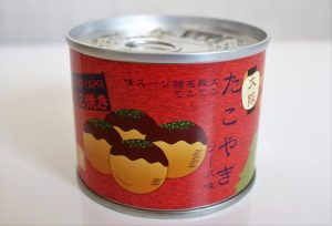 大阪名物・たこ焼き缶詰