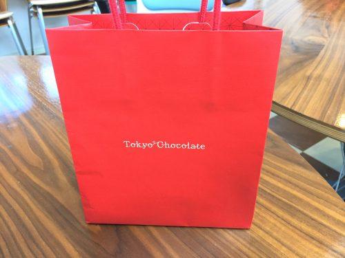 チョコレートの袋