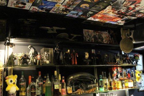 「BAR TREK」の酒棚