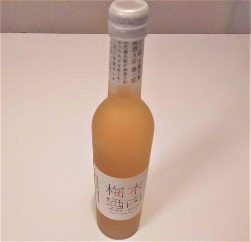 『木内梅酒』スラリとした立ち姿のボトル