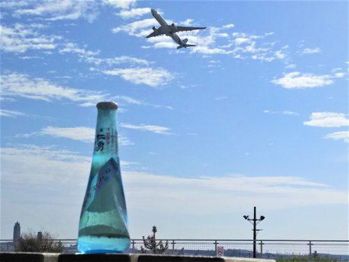 「仁勇」と飛行機