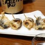 【暑い日にこそおすすめ】「〆張鶴 純米吟醸山田錦」とイワシの梅肉揚げ
