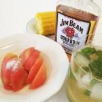 【ジャリジャリ感×ジャリジャリ感がたまらない!】砂糖がけ冷やしトマト&『ジムビーム』でつくる『ミントジュレップ』