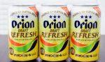 オリオン限定缶ビール 強い炭酸の刺激「リフレッシュ」