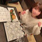 もえあず、日本酒約300杯を飲み比べ「楽しく美味しく飲んでる時間とは全くちがってた」