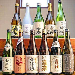 「会津地酒セット」販売!11蔵元と酒販店 15日から受け付け