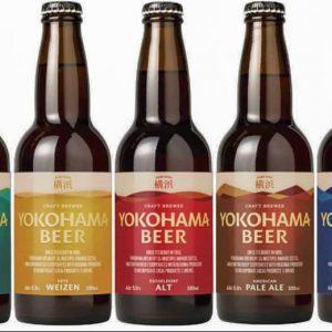 横浜ビール レギュラー5種のデザイン一新