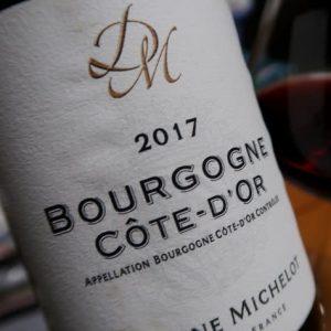 仏ブルゴーニュの最新AOC Bourgogne Côte d'Orを飲む