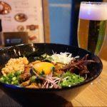 オープンしたばかりの『仙台ハイボールバー』で台湾まぜそばとビールを飲んできた話+α