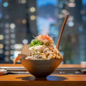 西洋料理と融合した新感覚もんじゃ!個室で夜景も楽しめる「KOBOREYA 月島」