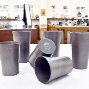 ビームスとコラボした超軽量の越前焼カップ 「灰釉」7月から新宿、渋谷、京都店で販売