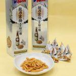 柿の種「越乃寒梅」 風味改良 新潟・アジカル お酒の味をアップ